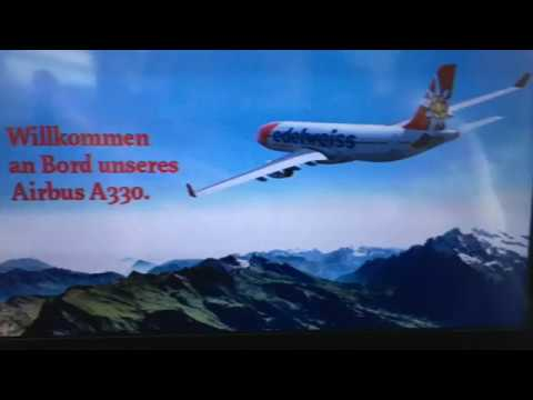 Edelweiss Flight WK34 Zürich - Punta Cana (ZRH - PUJ) Economy Max A330