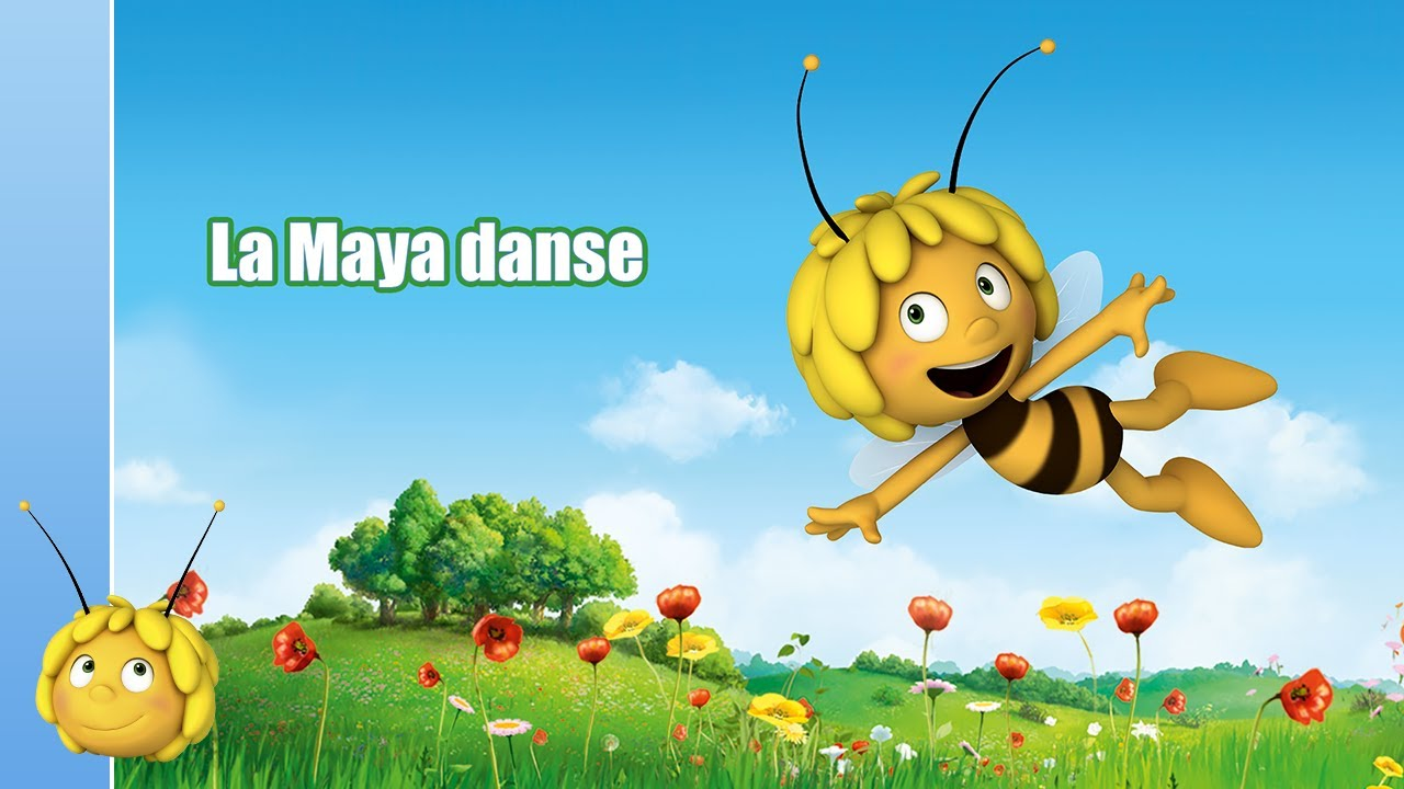 Paroles Maya L'Abeille : La Maya danse