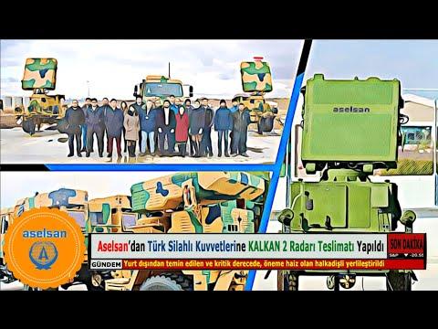 Aselsan'dan Türk Silahlı Kuvvetlerine KALKAN 2 Radarı Teslimatı Yapıldı