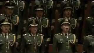 Священная война исполняет китайский хор
