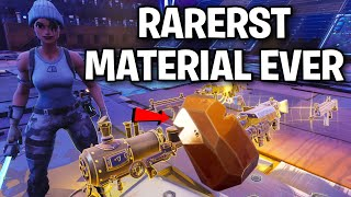 Meet the NEW rarest MATERIAL EVER! 😱😳 (Scammer Get Scammed) Fortnite Save The World