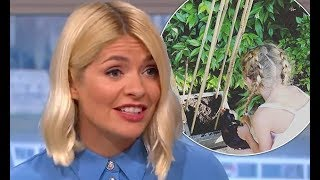 Holly Willoughby reveals she refuses to let daughter Belle, 8, wear her hair down at school because