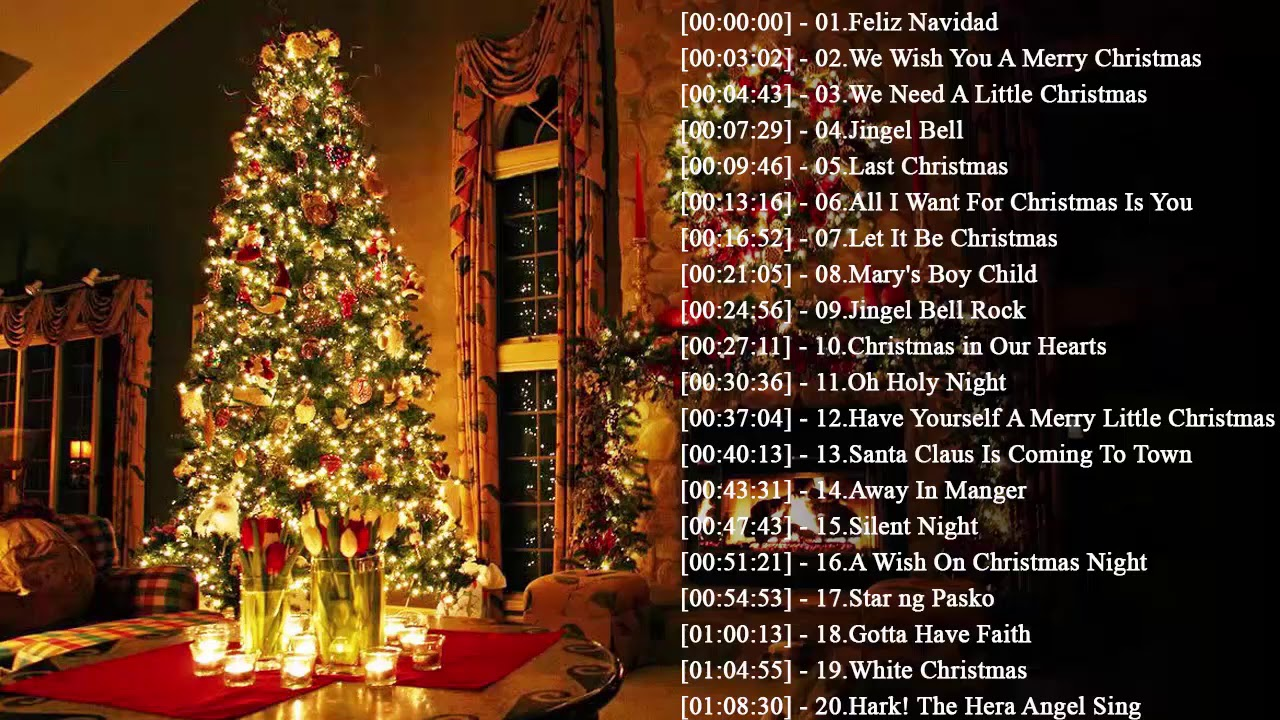 Christmas Music 2020 - Most Christmas Songs Ever - Best Classic Christmas Songs