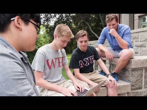 Step 3 of WPI students' Interactive Qualifying Project (IQP) journey to Bar Harbor