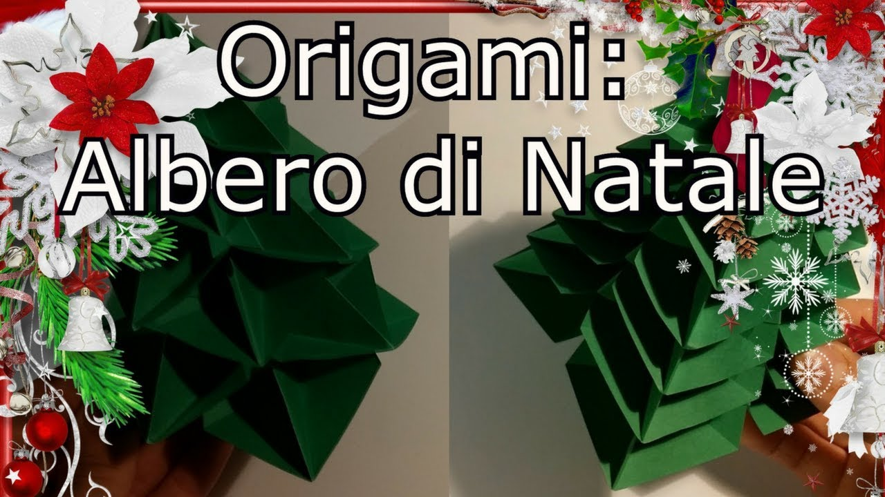 Albero Di Natale Youtube.Origami Albero Di Natale Multialbero Di Natale Modello Di Francesco Guarnieri Youtube