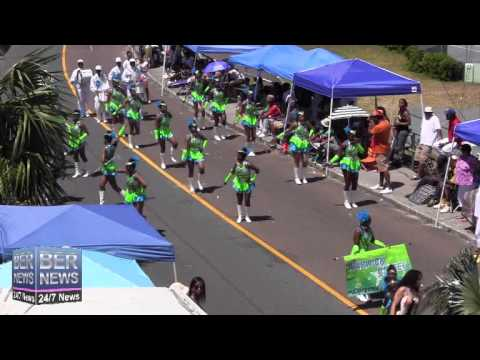 Warwick United In The Bermuda Day Parade, May 26 2014