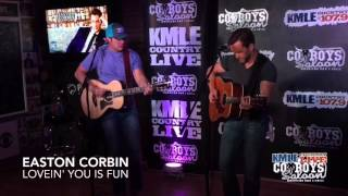 Download Easton Corbin - Lovin' You Is Fun MP3 song and Music Video