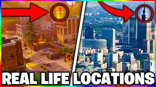 FORTNITE MAP IN REAL LIFE! FORTNITE REAL LIFE LOCATION! FORTNITE MAP LOCATIONS IN REAL LIFE! (OMG!)