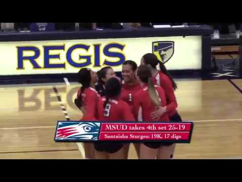 Volleyball vs Colorado Mines - RMAC Semifinals