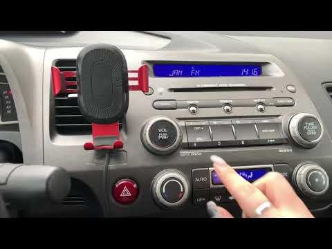 Секрет магнитолы Honda Civic 4D