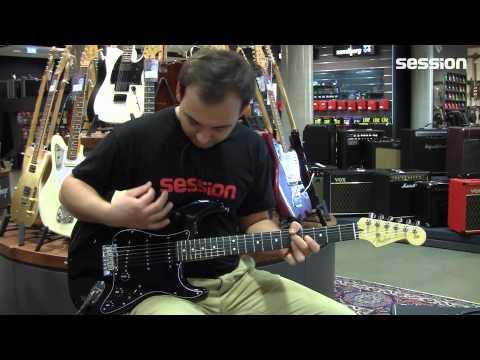 FENDER FSR American Standard Blackout Stratocaster EB MYSBLK