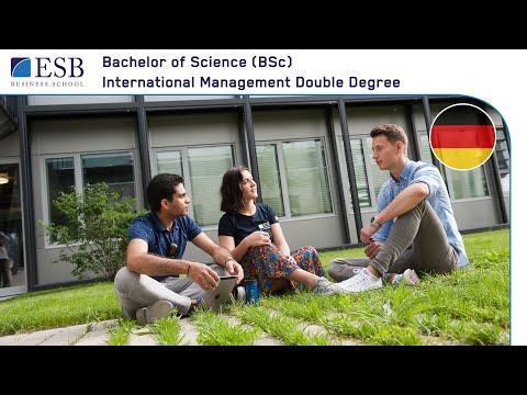 Bachelor International Management Double Degree an der ESB Business School