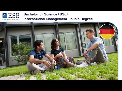 ESB Business School: Bachelor International Management Double Degree