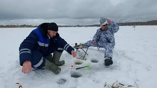 Зимняя рыбалка на Томи, закрытие сезона 2020-2021