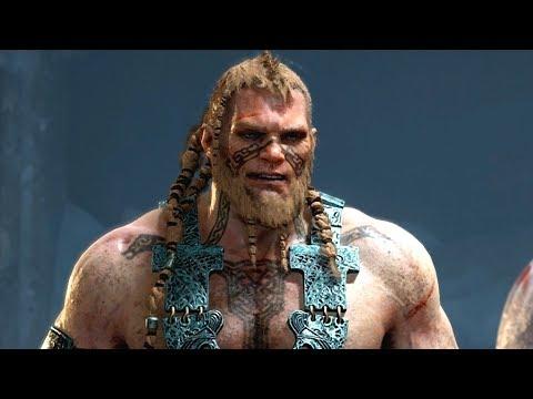 God Of War PS4 - Magni & Modi Boss Fight