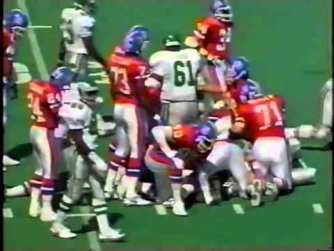 Week 3 1992 Eagles vs Broncos clip5