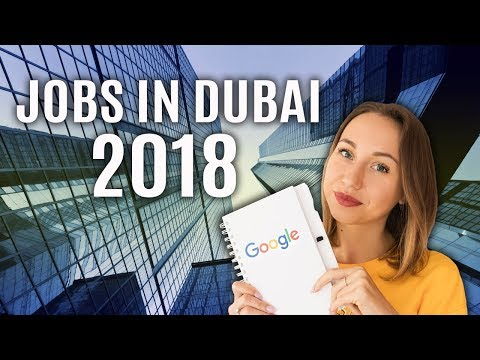 TOP 5 in-demand jobs in Dubai. Salary guide 2018.