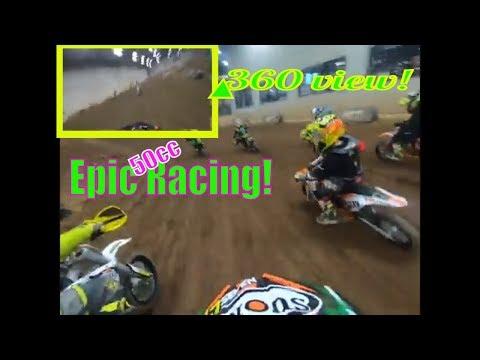 Epic 50cc Racing! Cedar Lake Arena (50cc Moto 1) Talons World