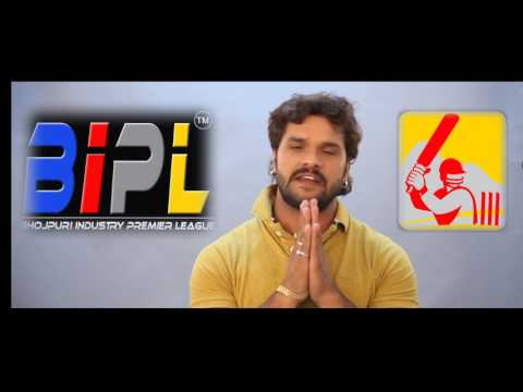 Khesari Lal Yadav Best Wishes for BIPL 2017