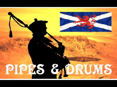 ⚡️When the Pipers Play (Medley)⚡️The Pipes and Drums of The London Scottish Regiment⚡️