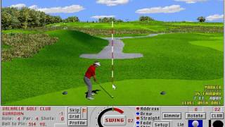 Links LS: Championship Course - Valhalla Golf Club (Access Software) (MS-DOS) [1996]