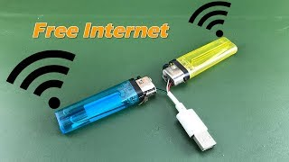 Electricity new 2019 free internet WiFi unlimited at home