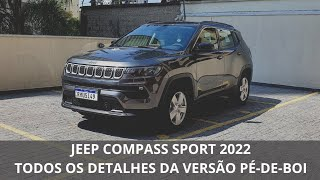 Jeep Compass Sport 2022 'pé-de-boi' em detalhes: tudo sobre a versão de entrada