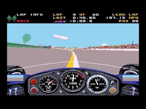 Indianapolis 500: The Simulation - 60-lap race
