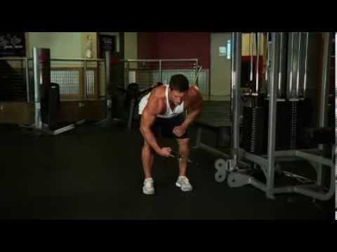 Bent Over Low Pulley Side Lateral Omuz Hareketi Nasıl Yapılır - FitnessProgrami.com