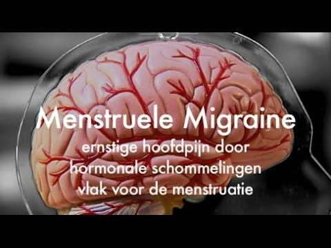 Afbeeldingsresultaat voor migraine en hormonen