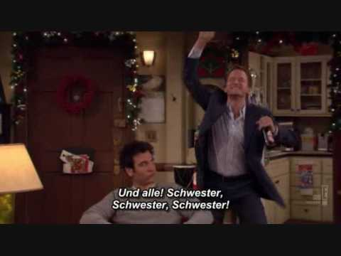 Barney Stinson Christmas Themes about Ted's Sister