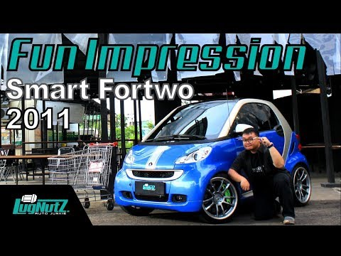Mobil Kutu Keren PALING EKSIS Di Dunia! - Smart Fortwo FUN IMPRESSION   LugNutz Indonesia