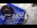 How to remove your wheel hub