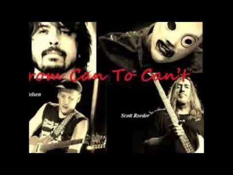Corey Taylor, Dave Grohl, Rick Nielsen, et al - From Can to Can't (vocal cover)