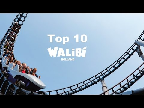 Top 10 des attractions de Walibi Holland