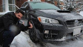 Safe Winter Driving- Subaru WRX (Winter)