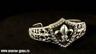 Серебряный браслет лилия(, 2012-07-02T13:59:44.000Z)