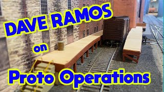 Dave Ramos: Model Railroad Switching Operations