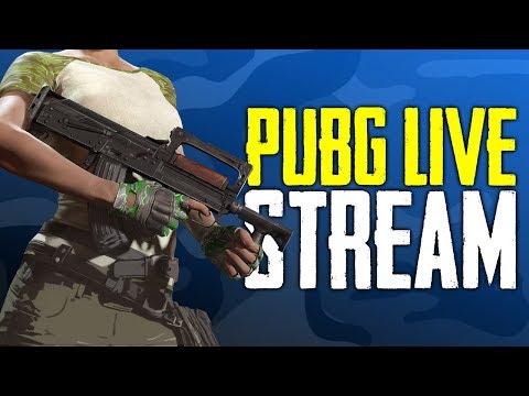 PUBG Solos Live Stream