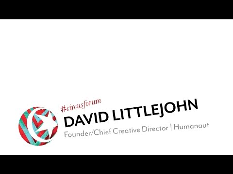 FORUM: David Littlejohn, Founder/Chief Creative Director | H