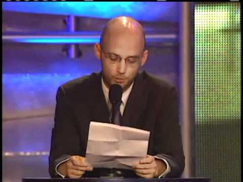Moby inducts Steely Dan Rock and Roll Hall of Fame Inductions 2001