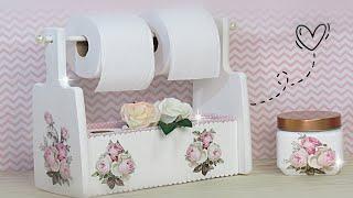 Nicho Organizador de Banheiro Personalizado – 100% Reciclado