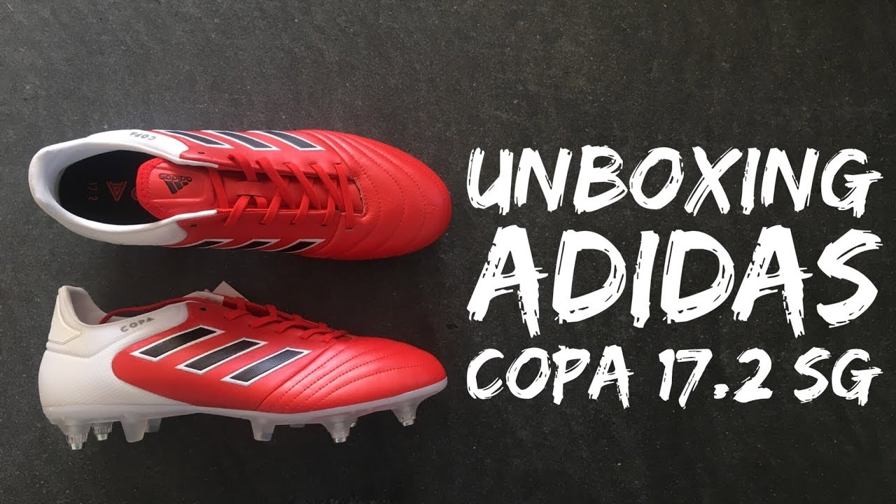 best service 3287c 6fc71 Adidas Copa 17.2 SG Red Limit Pack  UNBOXING  football boots  brand  new  2016  HD