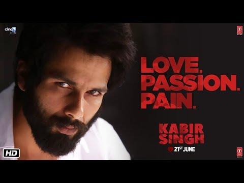 Kabir Singh – LOVE.PASSION.PAIN (Dialogue Promo)   Shahid Kapoor, Kiara Advani   Sandeep Reddy Vanga