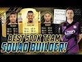 BEST 500K TEAM FOR FUT CHAMPIONS! SQUAD BUILDER FIFA 18 ULTIMATE TEAM!