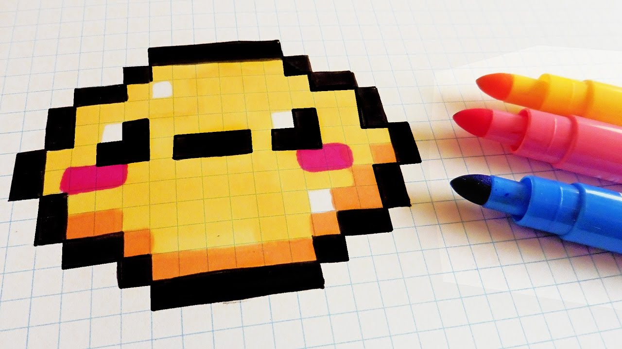 Handmade Pixel Art How To Draw Kawaii Lemon Pixelart