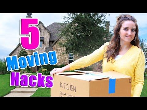 5 Moving Hacks! | Mindy McKnight