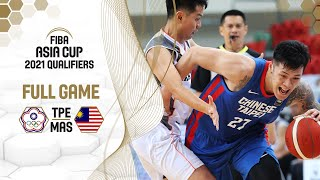 LIVE - Chinese Taipei v Malaysia - FIBA Asia Cup 2021 Qualifiers 2021
