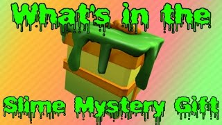 Slime Mystery Gift Predictions   Roblox Kids Choice Awards 2017 Event