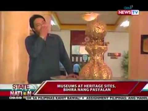 XIAO CHUA & CARLOS CELDRAN INTERVIEW ON MANILA'S BEST KEPT SECRETS IN GMA News TV, Jan 2012